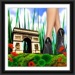 PARIS À MES PIEDS (Arc de Triomphe)
