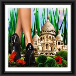 PARIS À MES PIEDS (sacré coeur)