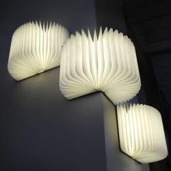 LAMPE LIVRE LUMINEUX - couverture simili cuir