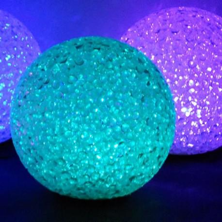 BOULE LED EFFET CRISTAL Ø 20 cm
