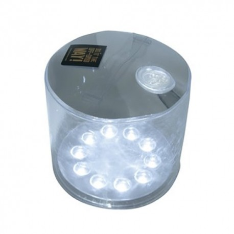 LAMPE SOLAIRE GONFLABLE BLANCHE