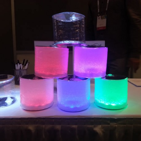 LAMPE LED SOLAIRE GONFLABLE COULEUR