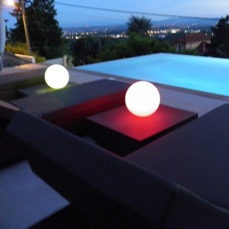BOULE LUMINEUSE LED PATIO Ø 20 cm