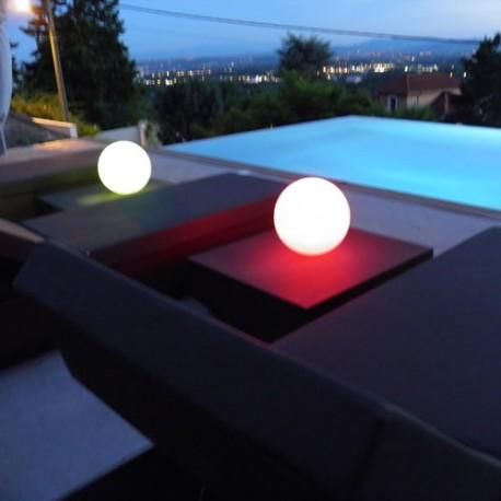 BOULE LUMINEUSE LED PATIO Ø 20 cm