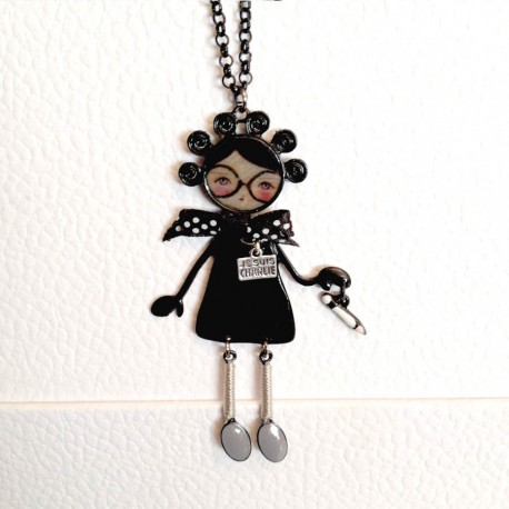 Collier CHARLINE noire
