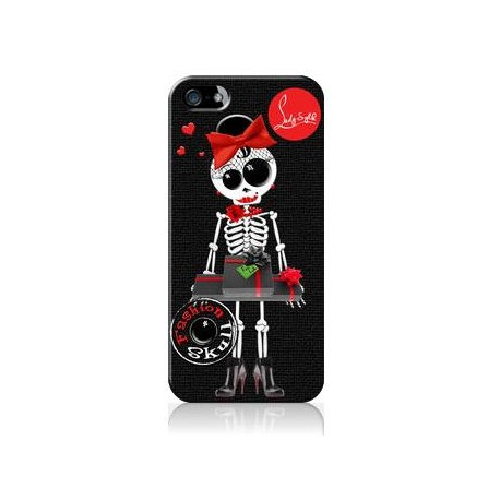 Coque iPhone 5 - LADY SYLK