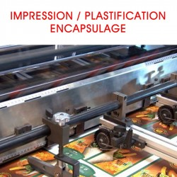 IMPRESSION / PLASTIFICATION / ENCAPSULAGE