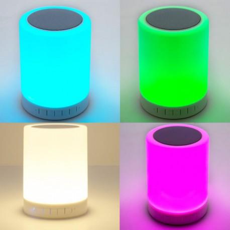 Led Et Art Bluetooth Lampe Rechargeable Salsa Zub hQrsdt
