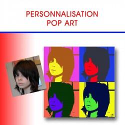 PERSONNALISATION POP ART