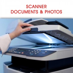 SCANNER DE DOCUMENTS & PHOTOS