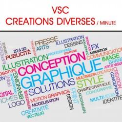 VSC Création diverses / minute